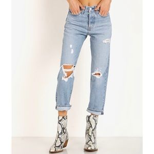 Levi's | Wedgie Straight Jeans | Authentically Yours - 32